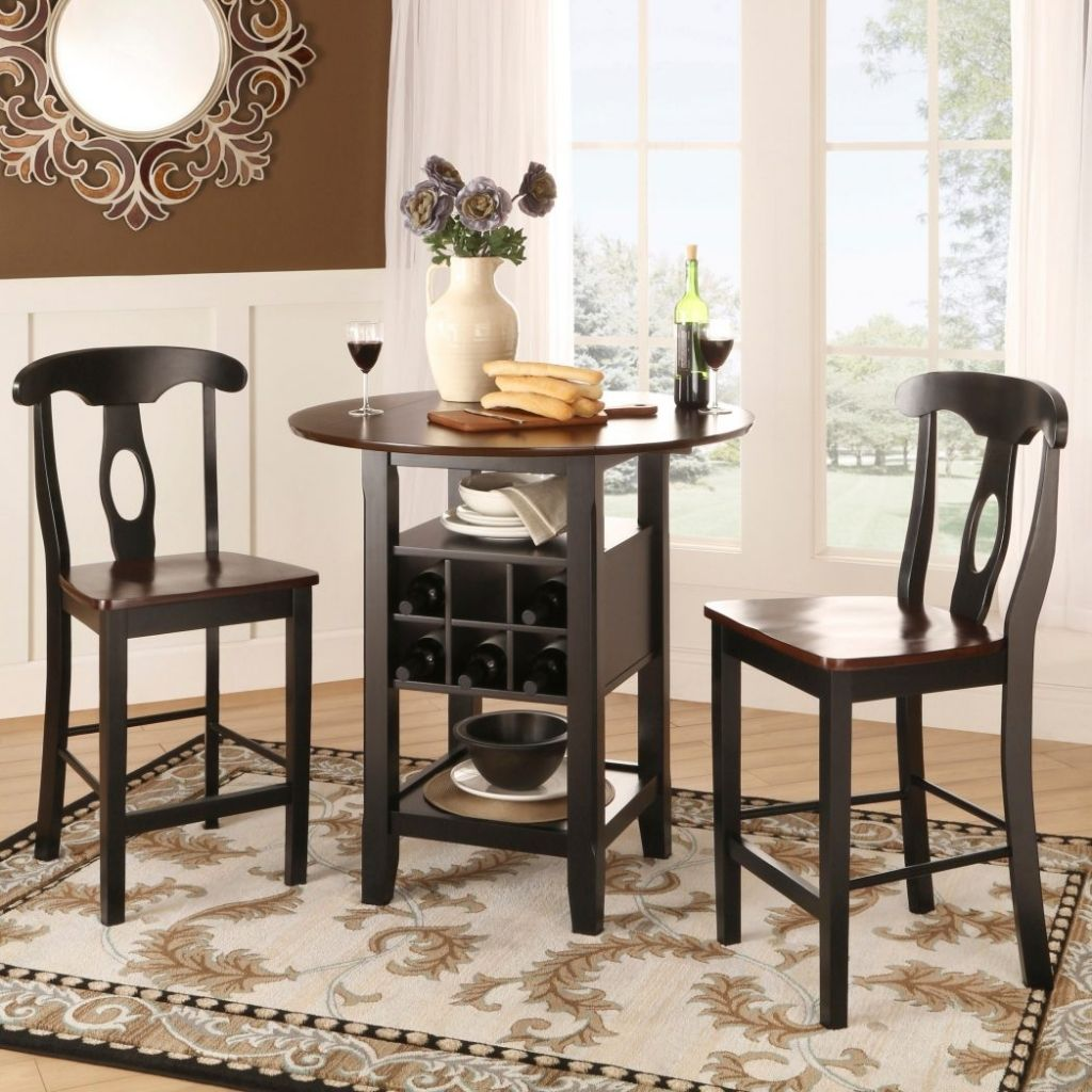 Homebelle 36 Wide Bistro Table With Chairs 3 Piece Set 2h334 Lamps Plus High Top Table Kitchen Bistro Table Pub Table Sets