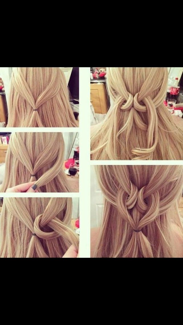 Cute Quick Hairstyles Half Vast  Hair Fashion & Hair Accessories  Pinterest  Hair Style