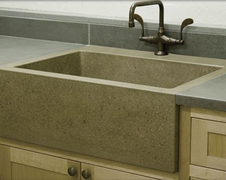 love the space in the farm sink