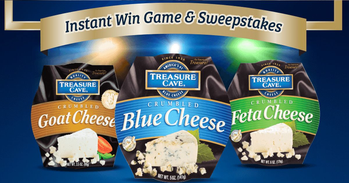 Treasure Cave Most Valuable Crumbles Instant Win Game and