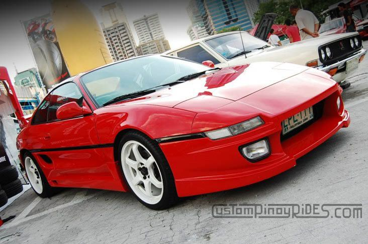 mr2 turbo red | MR2-Die-For: Tito Figueroa's Toyota MR2 Turbo | CustomPinoyRides.com ...