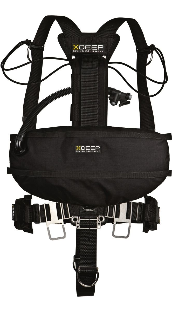 xDEEP - Side Mount Stealth 2.0 - full set; Side Mount Harness with