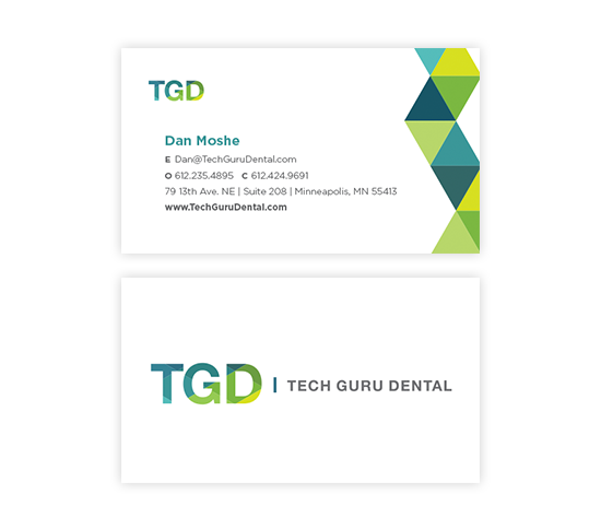 Brand Design and Stationery for Tech Guru Dental by Windmill Design