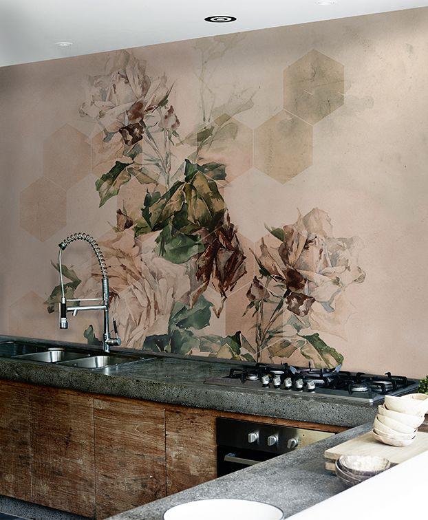 Le Bon Jardinier Wallpaper Wallcovering Wetsystem Brick