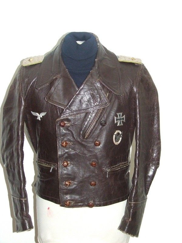 Pin On Leather Jacket