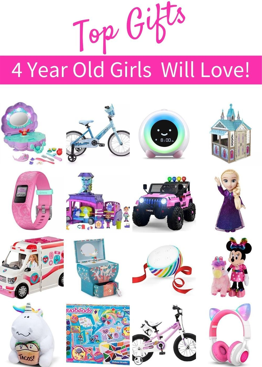 Top Kid Gifts For Christmas 2021 Best Toys And Gifts For 4 Year Old Girls 2021 4 Year Old Toys 4 Year Old Christmas Gifts Little Girl Gifts