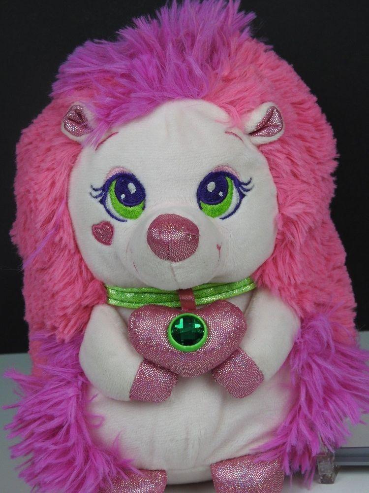 Ruby The Pink Pink Hedgehog Sparkle Stars Plush 8 By Fiesta Fiesta