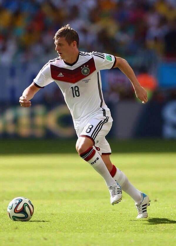 Toni Kroos, central midfield Germany