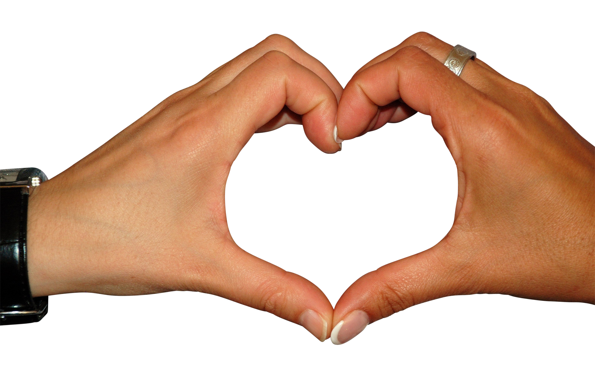 Download Hart Made By Two Hands Png Image For Free Png Images Hand Reference Heart Drawing