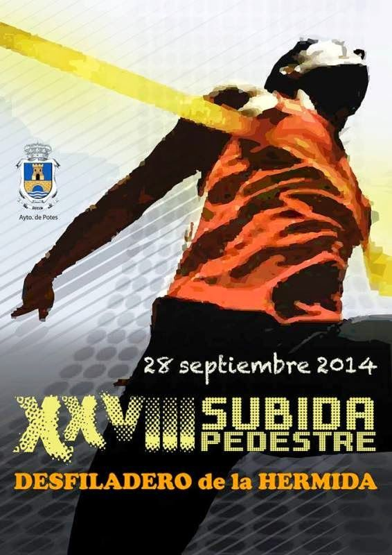 28 de septiembre, XXVIII Subida Pedestre Desfiladero de la Hermida #Liébana #Cantabria