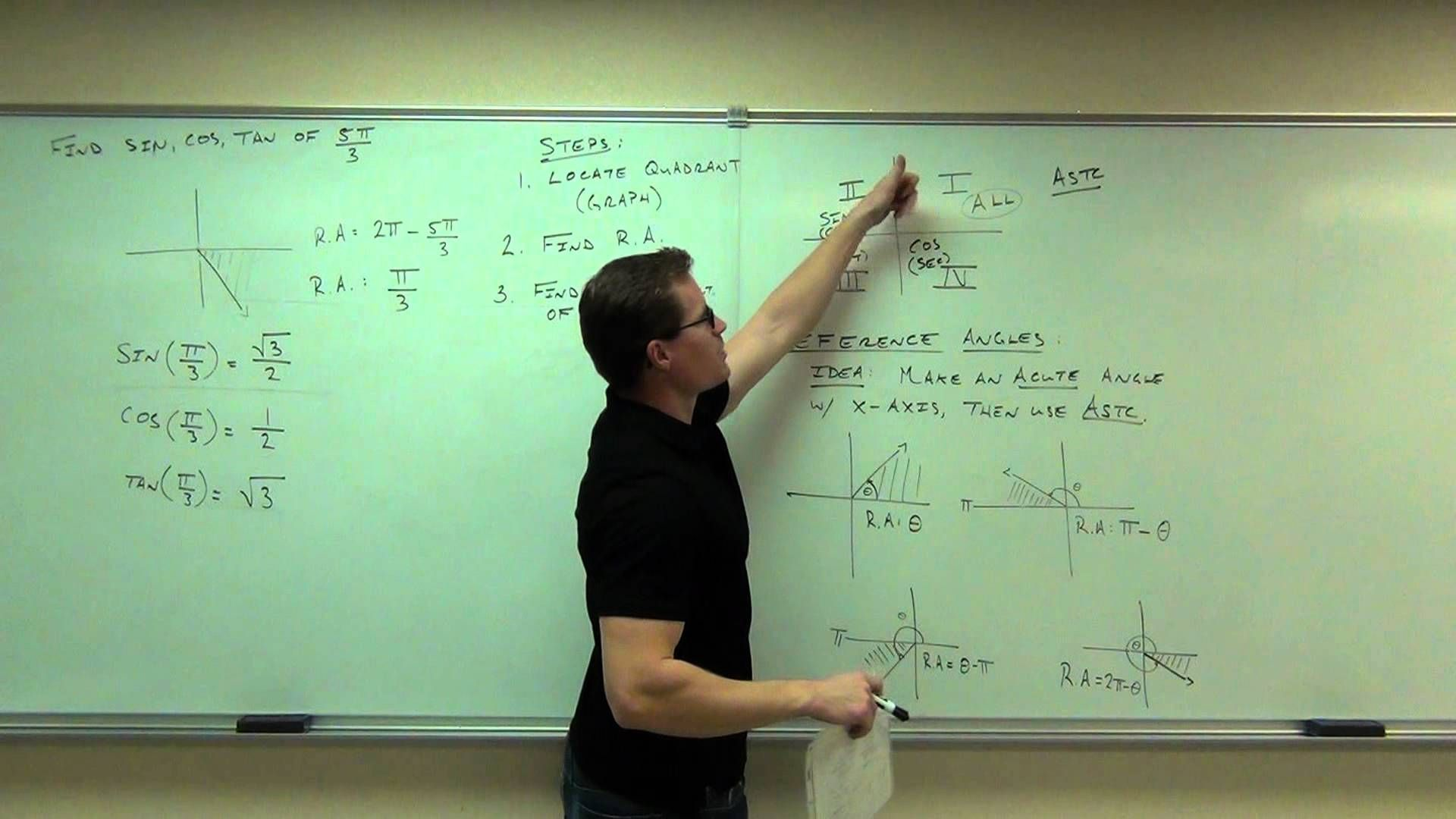 calculus 1 lecture 0 3 review of trigonometry and graphing