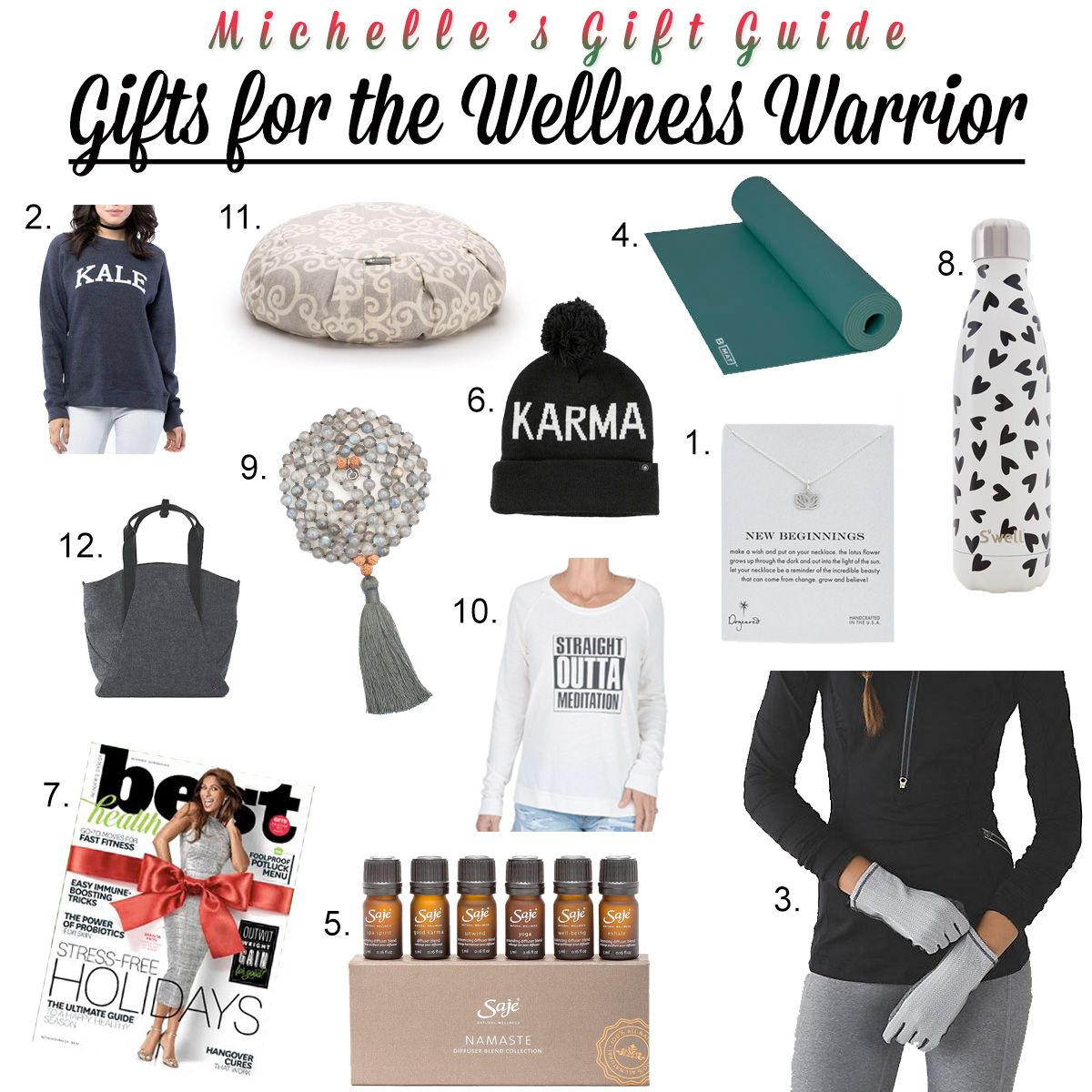 Holiday Gift Guide: Wellness Warrior  http://openhartz.com/home/2016/12/1/holiday-gift-guide-wellness-warrior