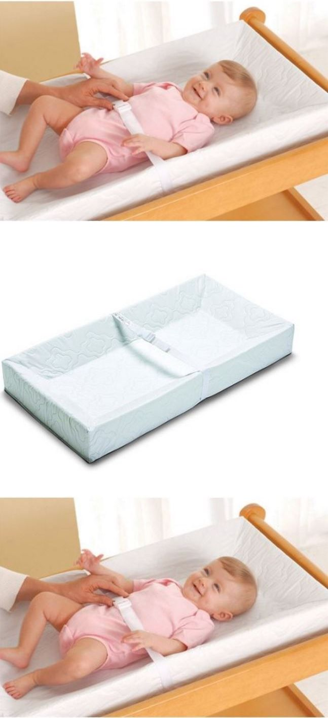 Changing Table Pad Four Sided Safety Comfortable Infant Toddler Baby