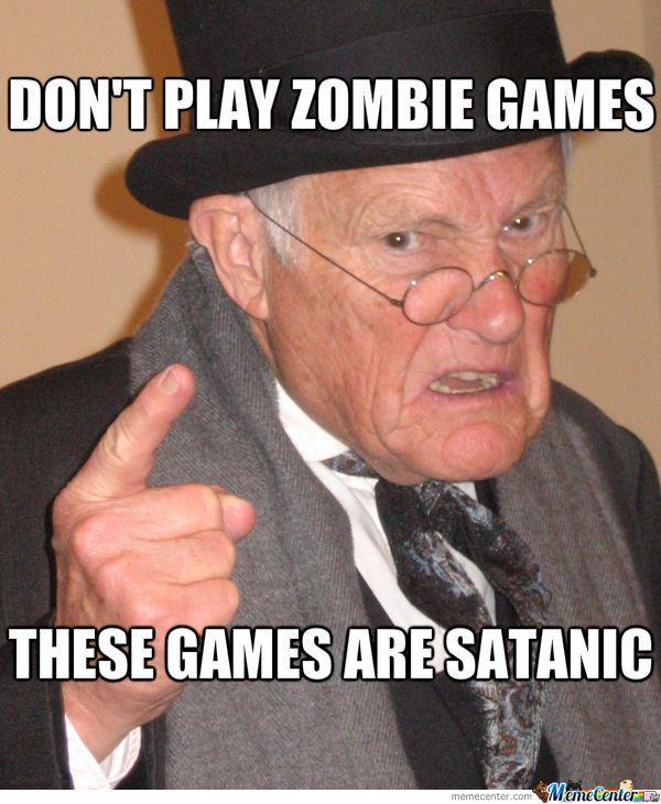 In that case I say Hail Satan!
