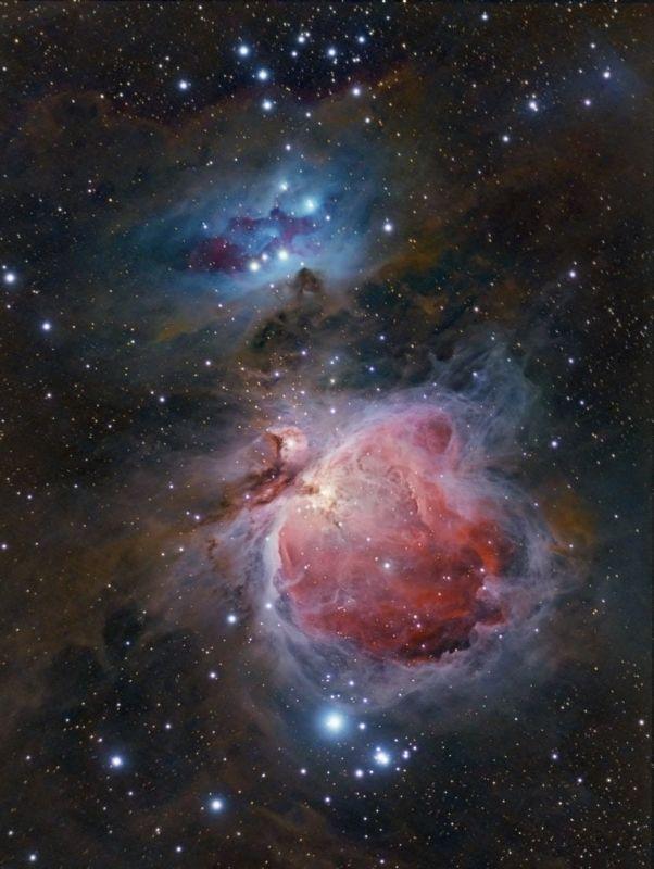 Great Orion Nebula, Astrophotography by Alex Conu