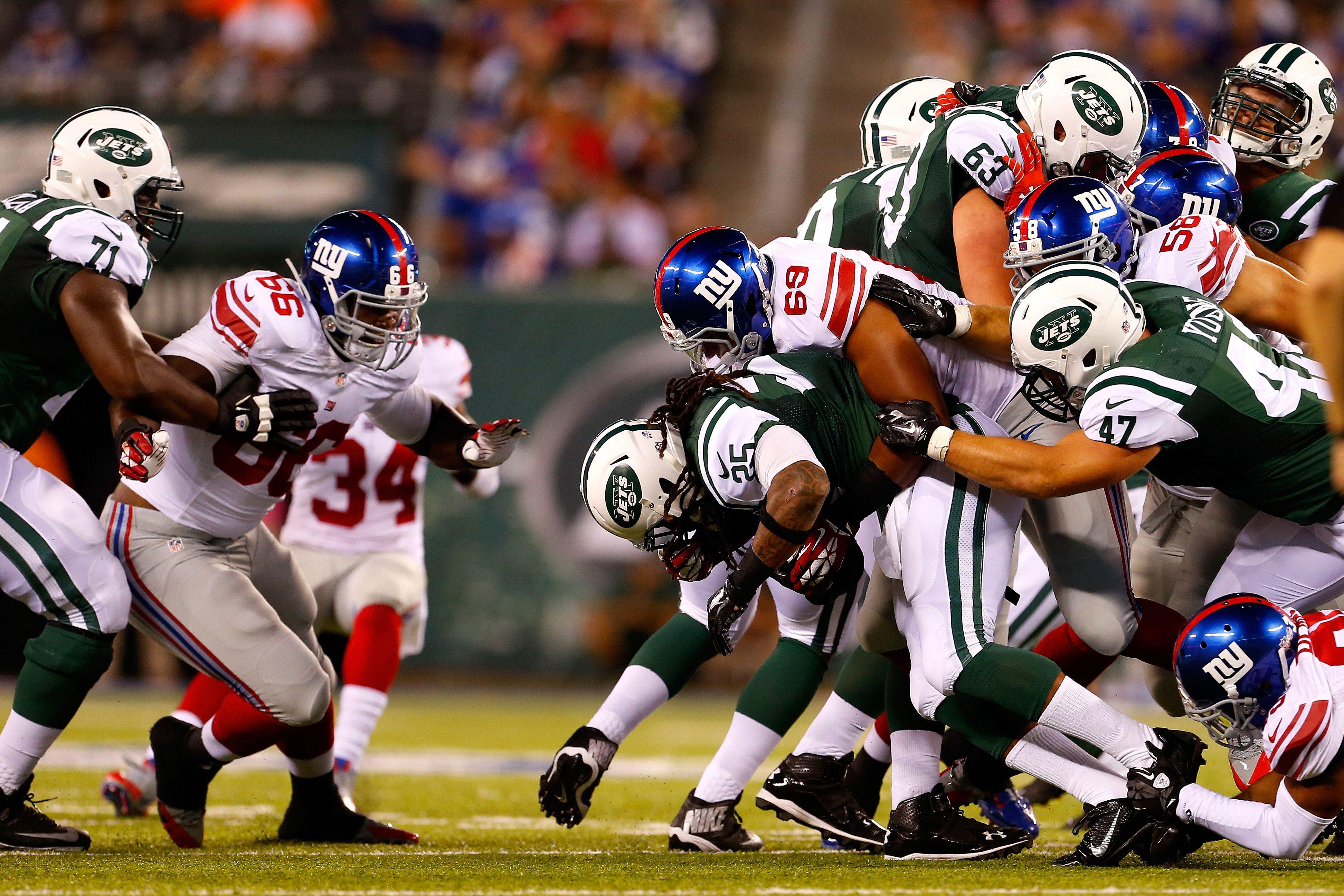 New York Giants vs. New York Jets Start Time, TV Channel