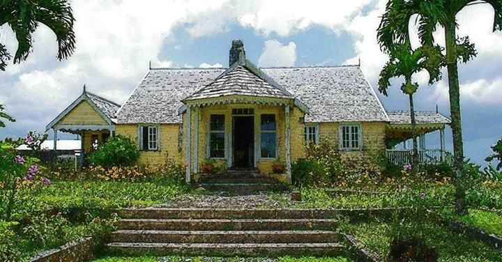 Jamaican 18th century plantation house perhaps jared 39 s for Small plantation homes