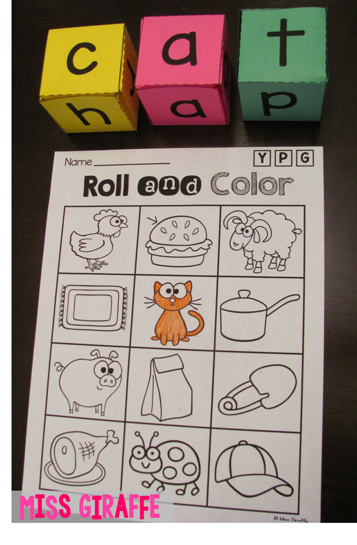 CVC Words Roll - awesome reading center!! | English Language Arts ...