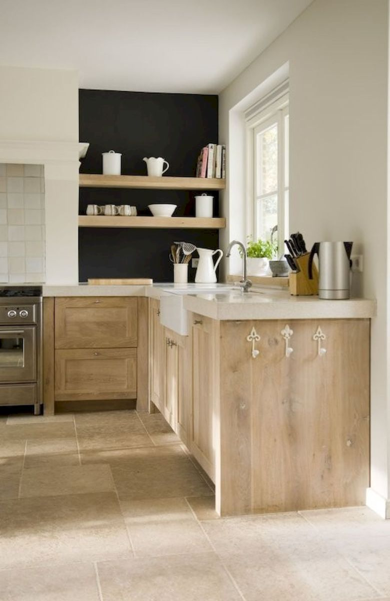 Awesome Scandinavian Kitchen Design Ideas 46 Homevialand Com Wood Kitchen Cabinets Kitchen Design Home Kitchens