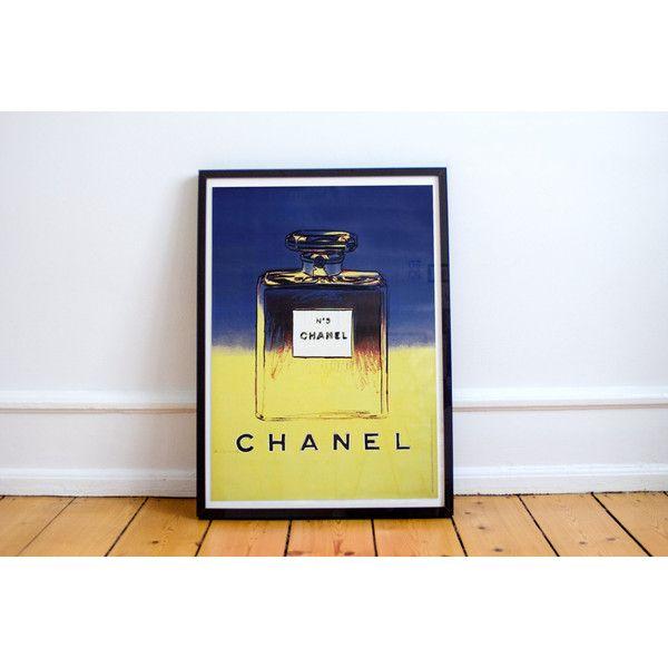 Chanel No. 5 Andy Warhol Premium Quality Print ($20) ❤ liked on ...
