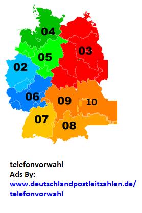 vorwahlen deutschland