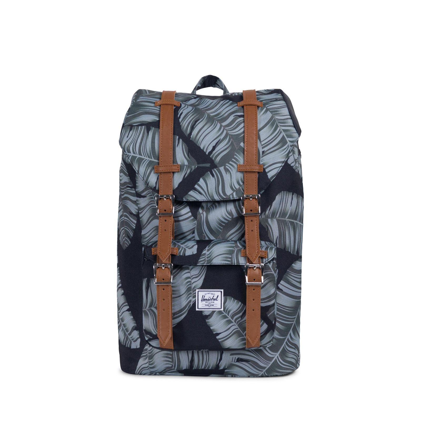 Herschel Little America Mid-Vol Backpack Black Palm Rucksack – Quality  Brands Store – Herschel Supply, Tretorn, Funkita, 2XU, BN3TH