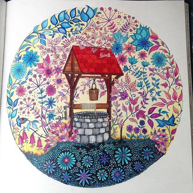 #johannabasford #secretgarden #jardinsecreto