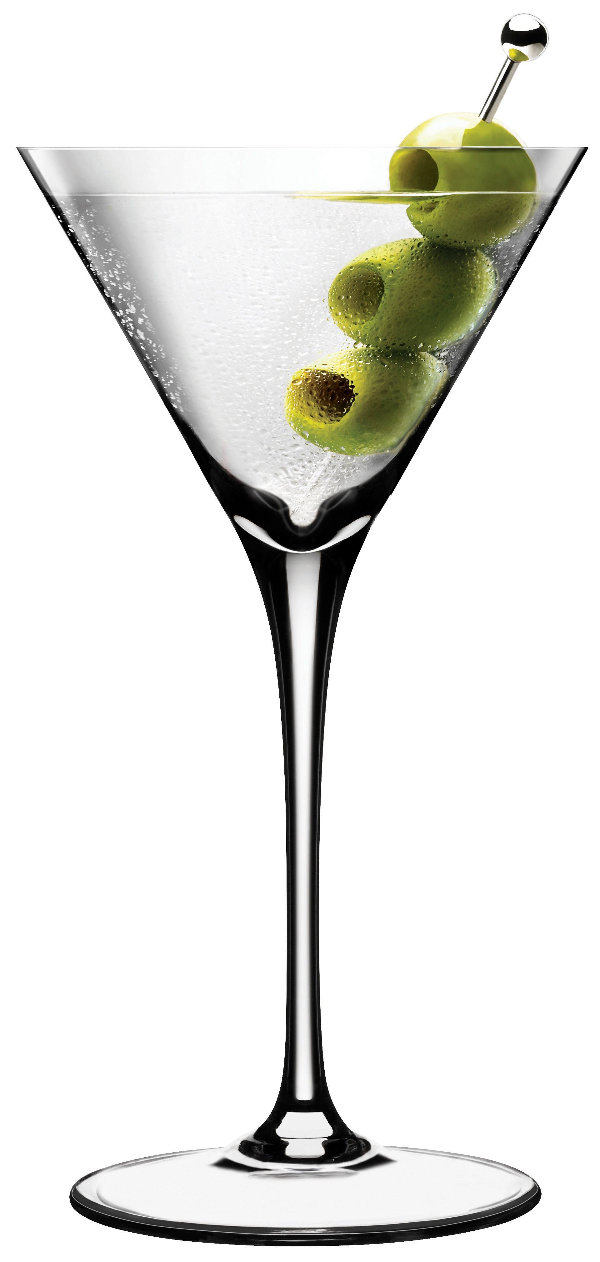 How to drink dry martini