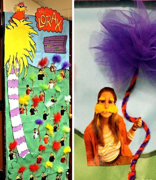 Lorax Classroom Decor : Dr seuss teacher appreciation the lorax hallway
