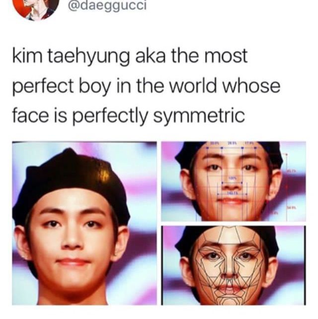 How Is That Even Possible To Have A Face That Perfect Im Supposed To Be A Kookie Bias Right Now Bts Imagine Bts Taehyung Kpop Memes Bts