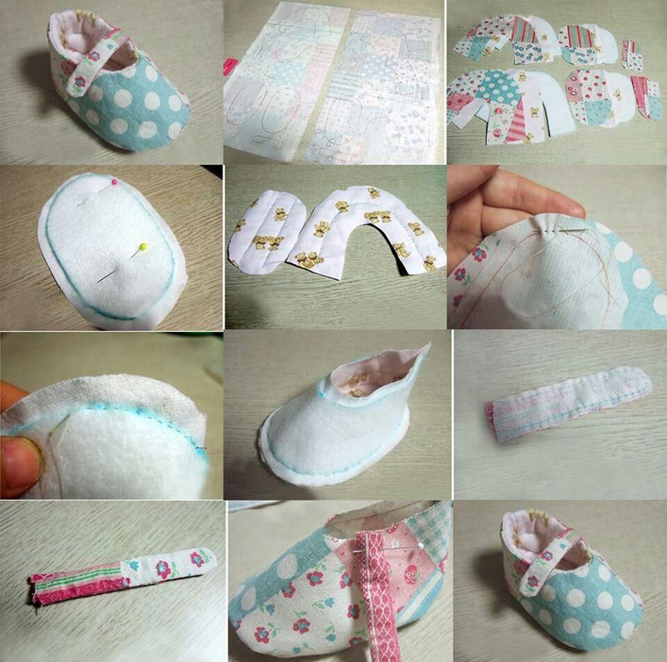 Handmade baby shoes | Diy baby clothes, Handmade baby ...