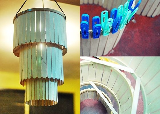 Easy Projects Using Popsicle Sticks Popsicle Stick Chandelier 10 Insanely Cool Diy Chandeliers Diys Gjenbruk Ispinner