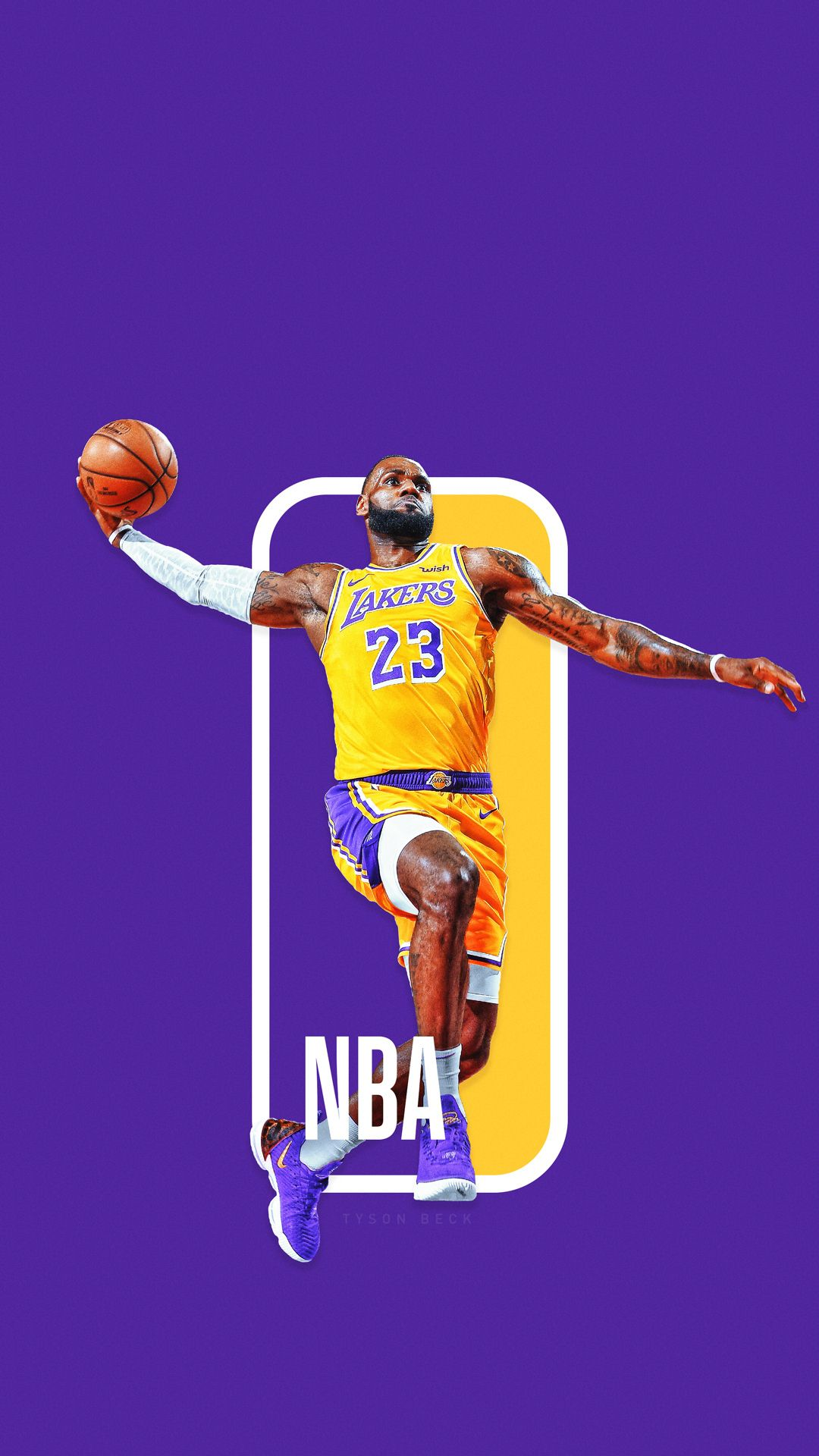 The Next NBA logo? NBA Logoman Series on Behance Lebron