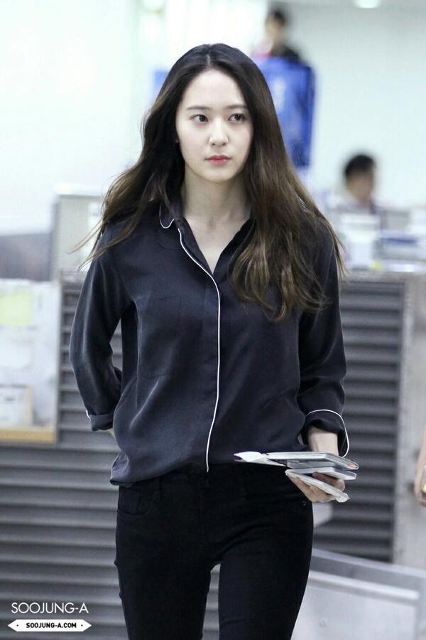 Krystal Heading To Shanghai Krystal F X Airport