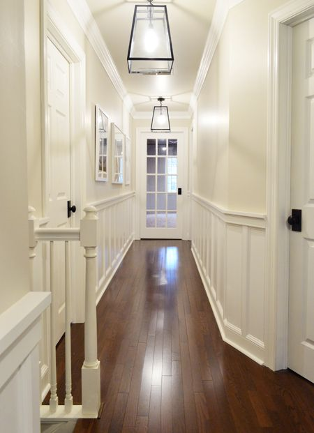 Decking The Halls With Quot Fancy Quot Molding Hallway