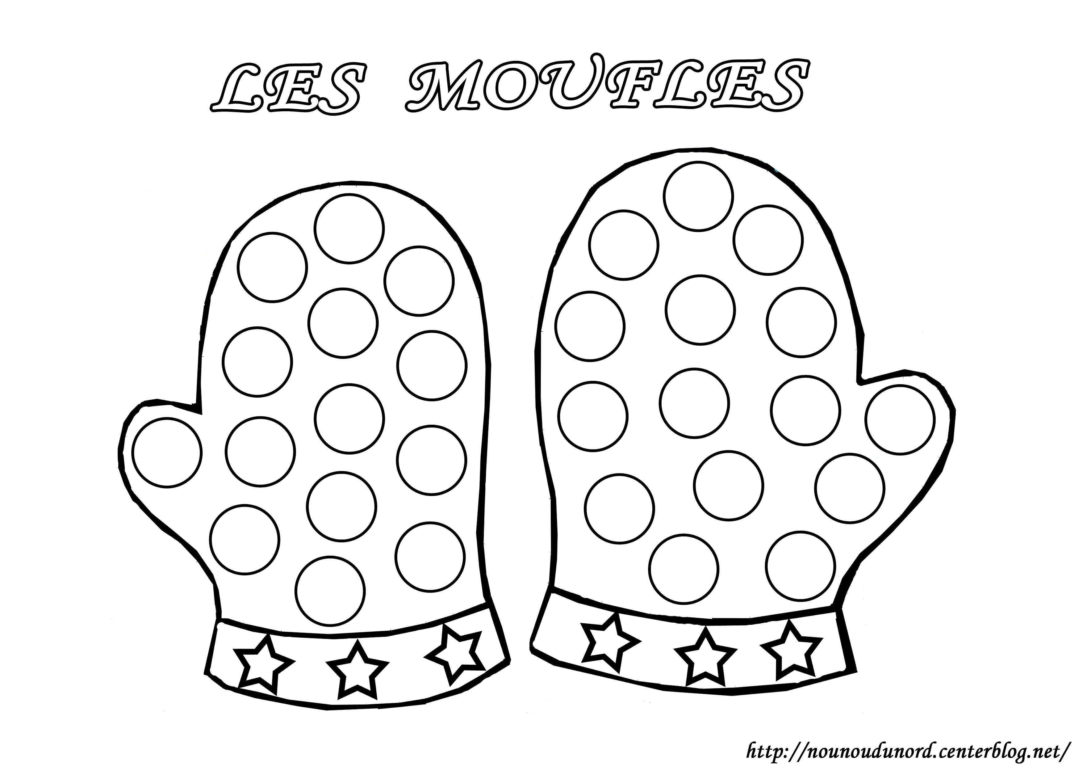 16 dessins de coloriage Hiver Petite Section imprimer | Winter