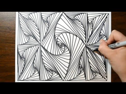 24 zentangle patterns || 24 Doodle Patterns, Zentangle Patterns ...