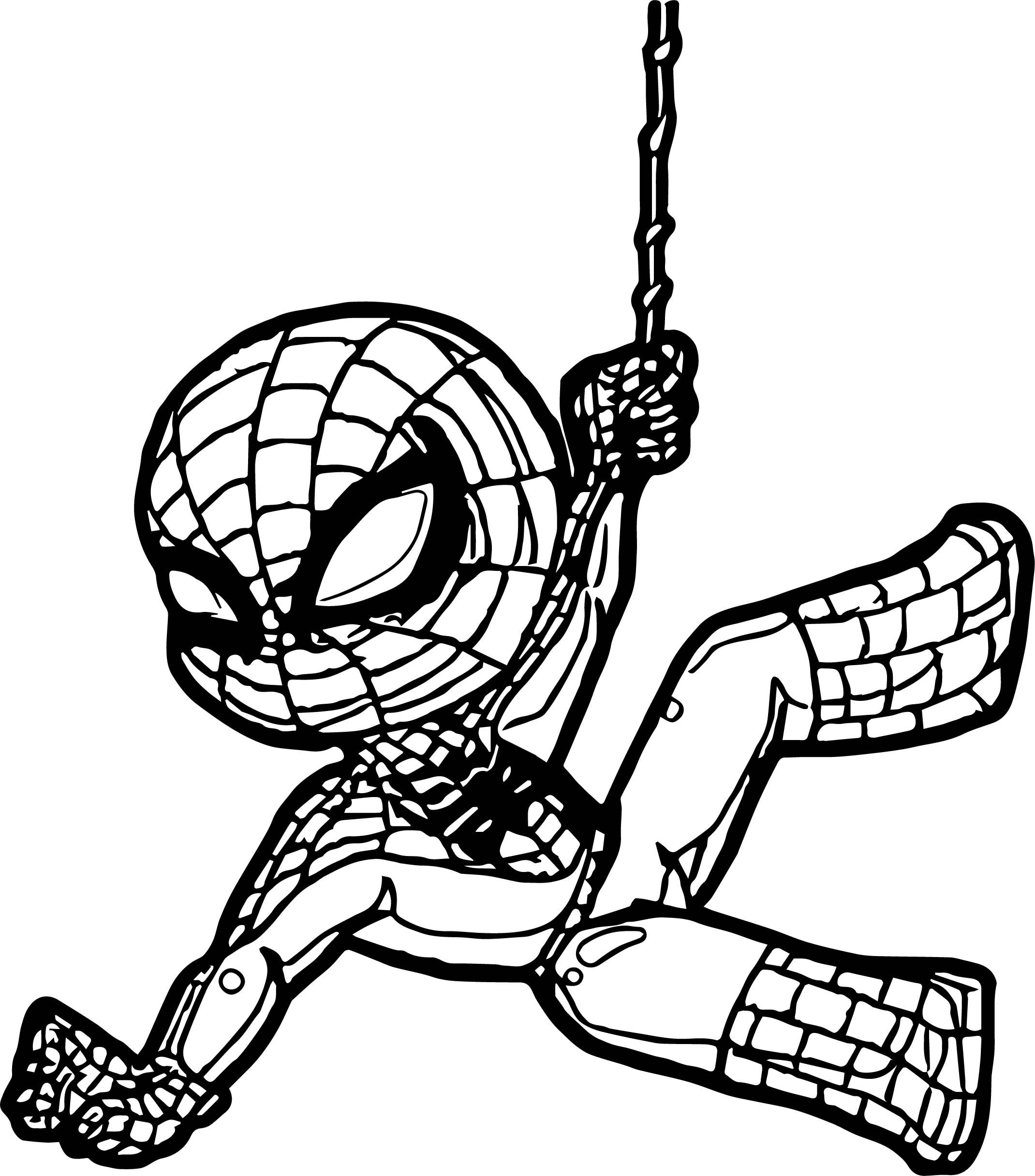 Nice Coloring New Spiderman