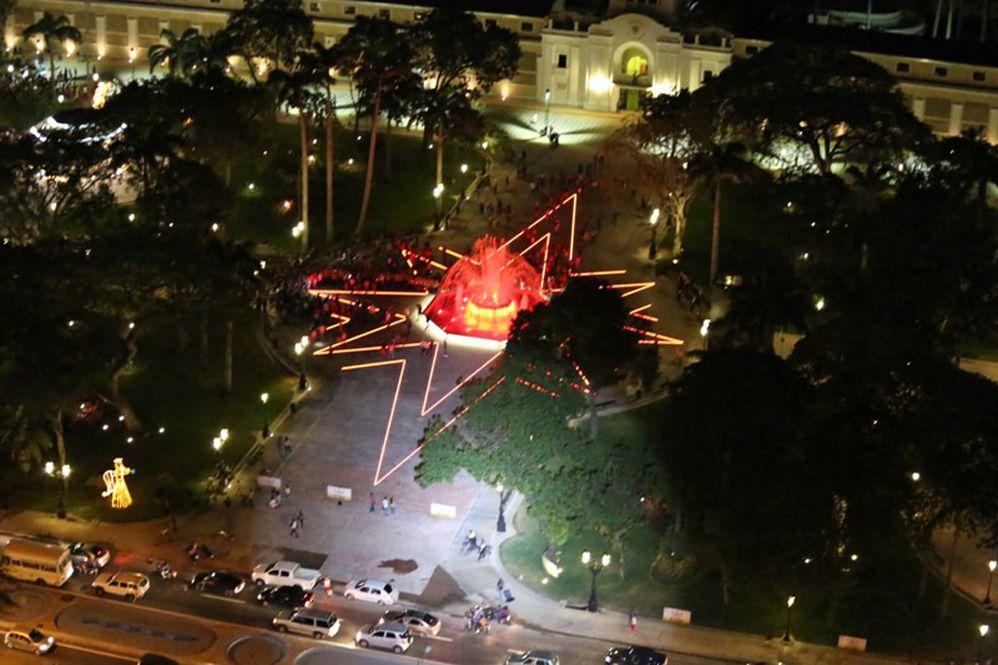 En fotos: la ciudad de Maracay disfruta de su nueva Plaza Bolívar para actividades culturales y sociales