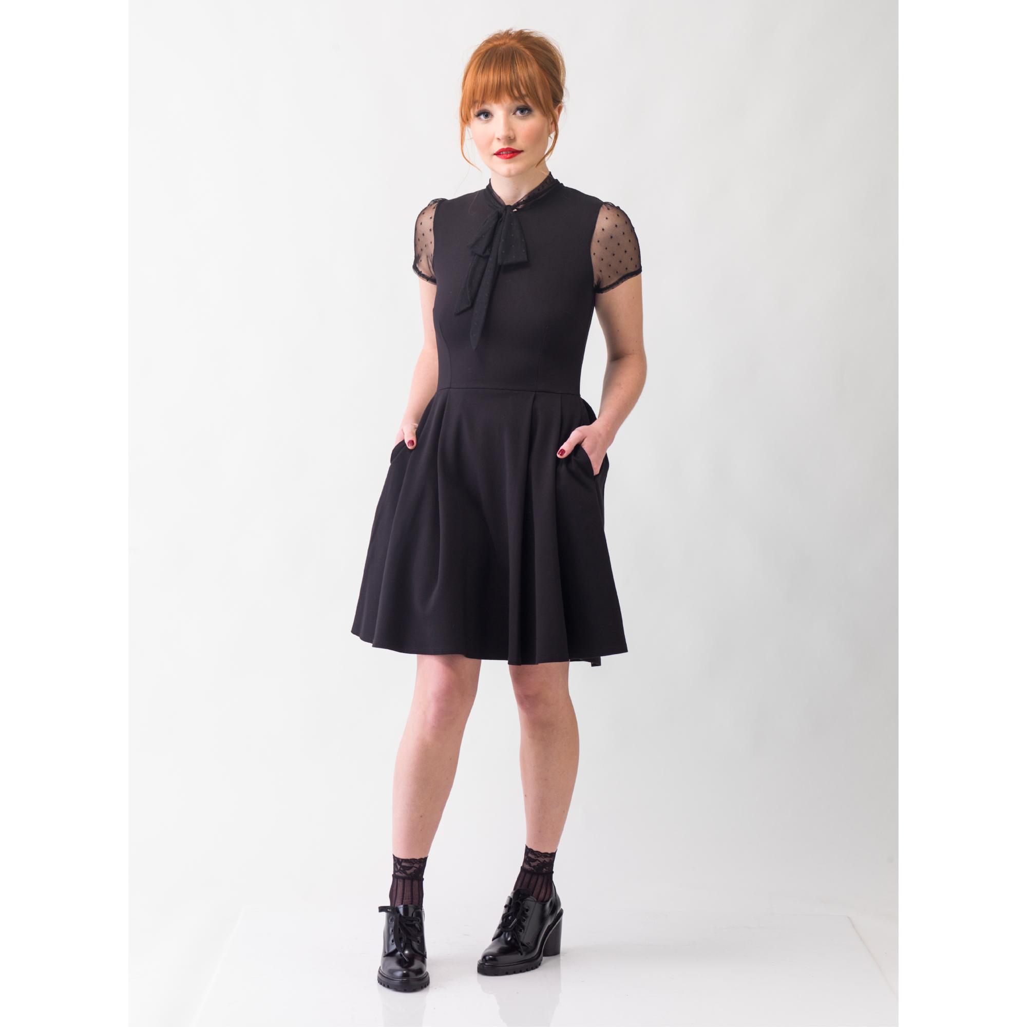 Long Sleeves Sheer Top Little Black Dress Cocktail Dress 26152900 Little Black Dress Cocktail Dress Classy Black Cocktail Dress [ 1500 x 996 Pixel ]
