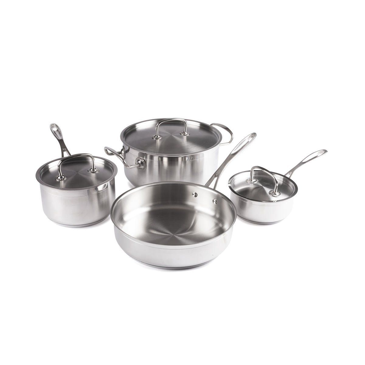 Forthechefs 7 piece commercial grade premium induction