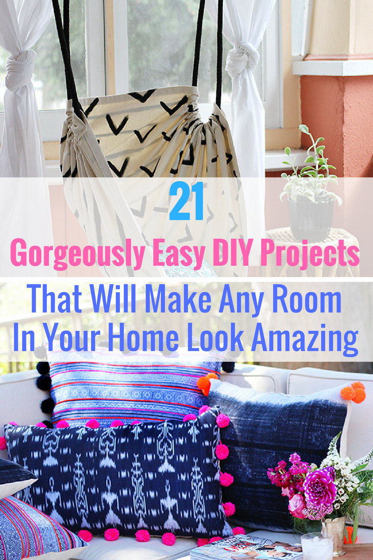 Diy room decor tumblr pinterest  fun diy projects that will make your bedroom more cozy  room