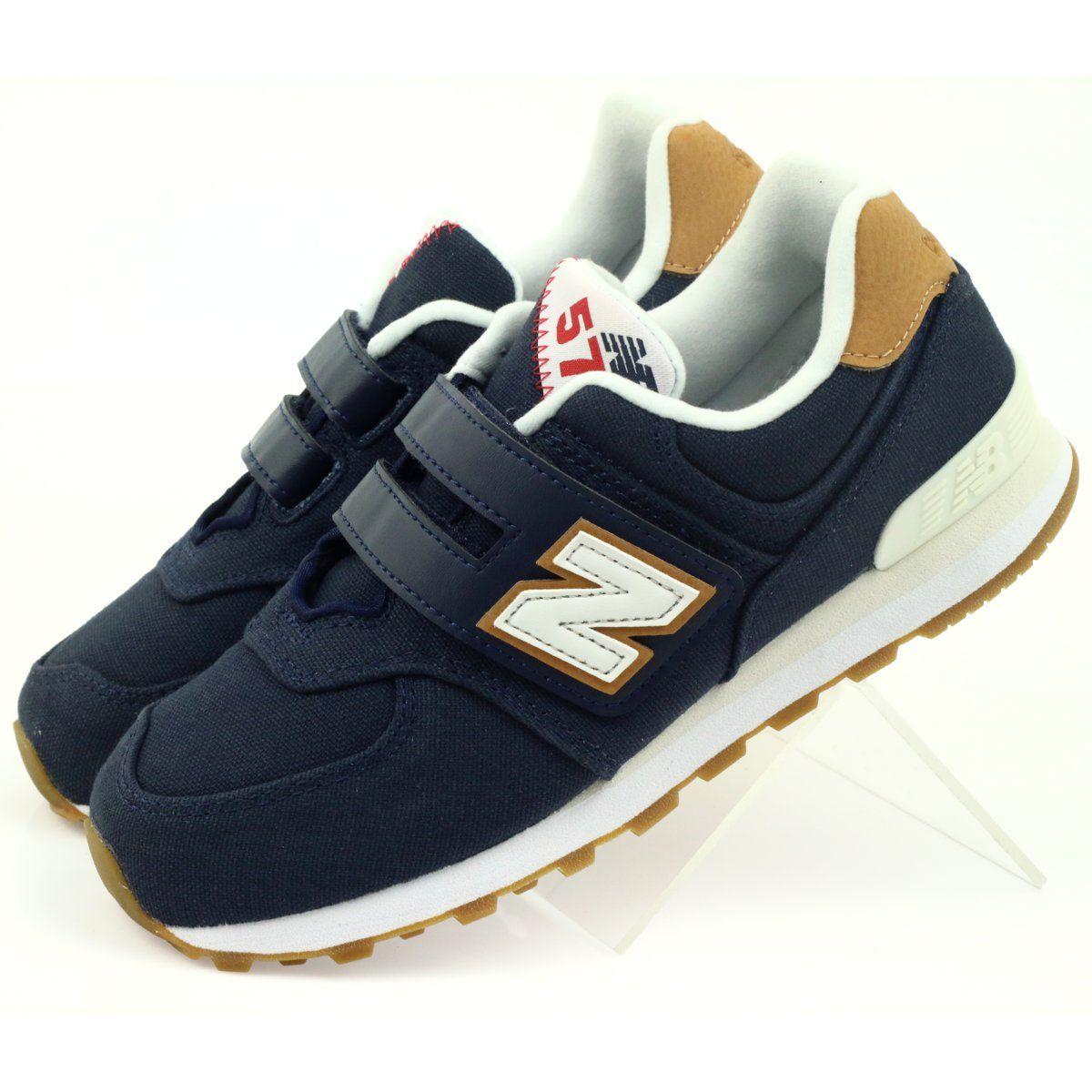 New Balance Yv574t1 Granatowe New Balance Dc Sneaker Shoes
