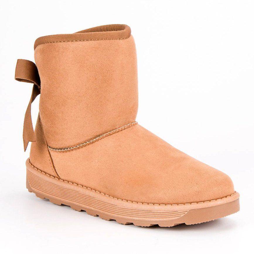Mukluki Z Kokarda Brazowe Boots Ugg Boots Uggs