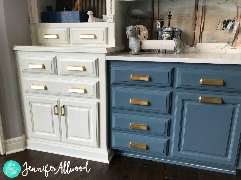 gold hardware kitchen jennifer allwood the magic brush jennifer allwood blue cabinets on kitchen cabinets gold hardware id=79906