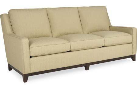 1480  Carter  Sofa 80.5W 38D 38H in. Seat Height: 21 Arm Height: 23.5 Seat Depth: 22 In Arm Width: 71.5 Back Rail Height: 34.5 Weight: 15...