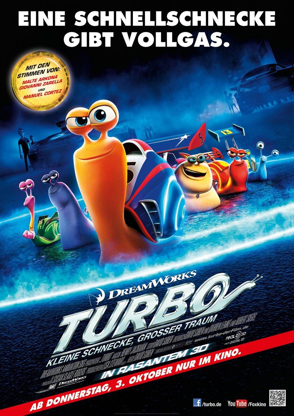 Filmkritik Turbo 2013 Filme Dreamworks Animationsfilme