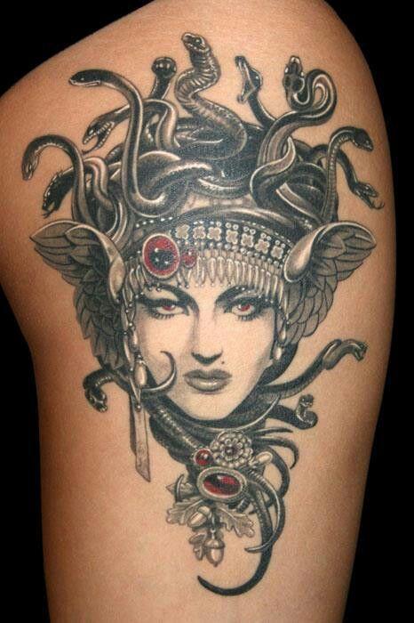 Medusa Tattoo Gorgones 2 Meduses Et Mythe De Perseus