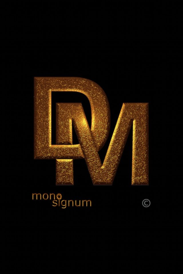 Iphone Wallpaper Dm 03 Monogram Create Logo Design Initials