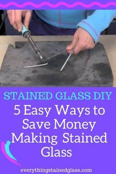 Stained Glass Cost Saving Tips - 5 Ways To Save $$